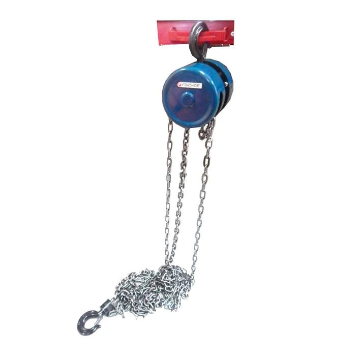 Лебедка механическая Forsage F-TR9030, подвесная с фиксацией цепи натяжения, 3 т, 3 м