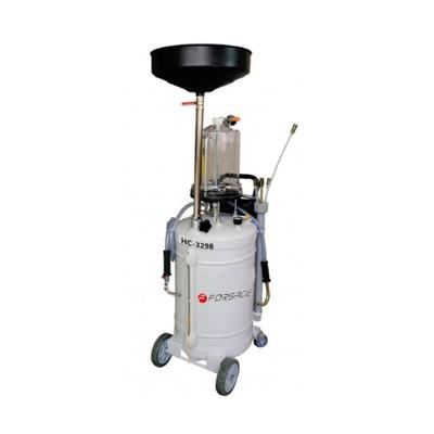 Установка пневматическая Forsage F-HC-3298, для удаления отработанного масла,90л, 6 щупов