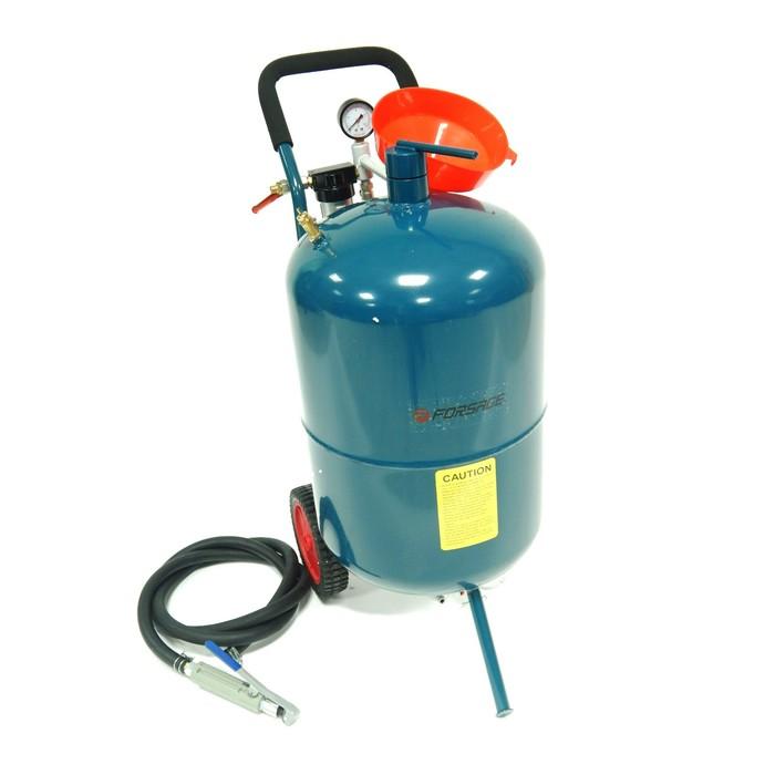 Пескоструйный аппарат Forsage F-SB20-II, напорного типа, 75 л, 710 л/мин, 8.5 атм
