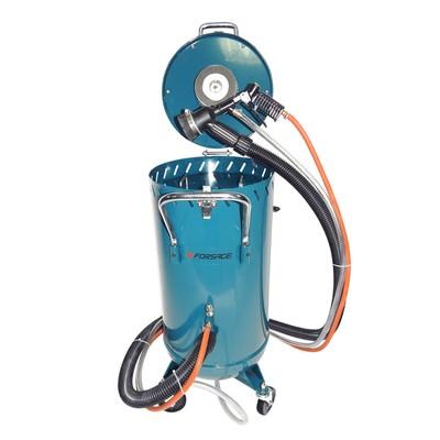 Пескоструйный аппарат Forsage F-SB28G, электродвигатель для вакуума, 220В, 75л, 710 л/мин