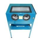 Пескоструйная камера Forsage F-SBC220, 220 л, 708 л/мин, 5.4 атм, сопла 4-7 мм, пневмо.