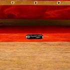 Корабль сувенирный большой «Гайрет», борта красное дерево, паруса белые, 82×13×62 см - фото 873196