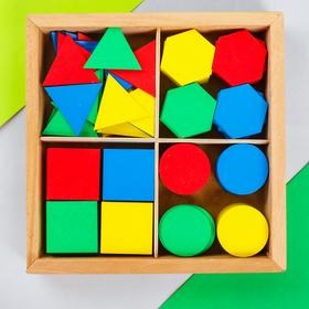 Дидактический набор в коробке, 160 элементов