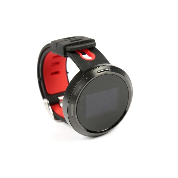 Умные часы Prolike с измерением давления, черно-красные PLSW4000R