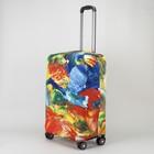 "Чехол для чемодана 20"", 36*24*49, ""Краски"""