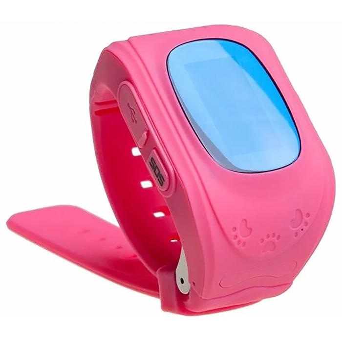 """Смарт-часы Prolike PLSW50, детские, дисплей 0.96"""", розовые"""