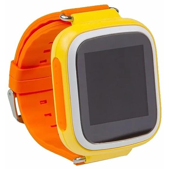 """Смарт-часы Prolike PLSW523, детские, цветной дисплей 1.44"""", оранжевые"""