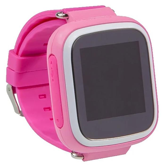 """Смарт-часы Prolike PLSW523, детские, цветной дисплей 1.44"""", розовые"""