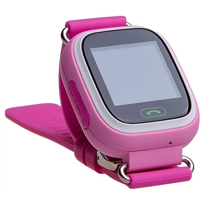 """Смарт-часы Prolike PLSW90, детские, цветной дисплей 1.22"""", розовые"""