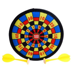 """Darts """"1 to 100"""", with Velcro"""