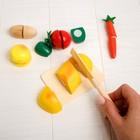 Набор «Учусь готовить» на липучках, 7 предметов - фото 999101