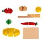 Набор «Учусь готовить» на липучках, 7 предметов - фото 999103