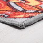 Палас «Гонки», 150х200 см, серый - фото 105482242