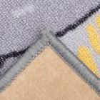 Палас «Гонки», 150х200 см, серый - фото 105482243