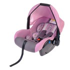 "Safe car seat, group 0+, grey/pink ""Tenderness"""