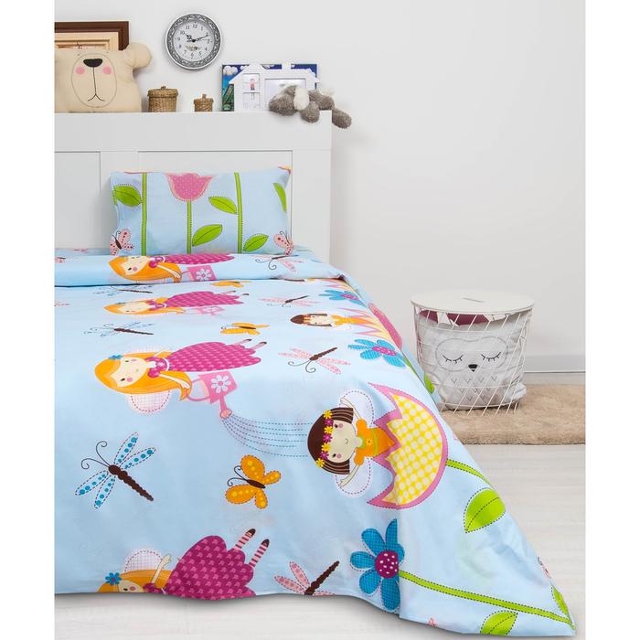 Детское постельное бельё 1,5 сп. «Стрекоза»