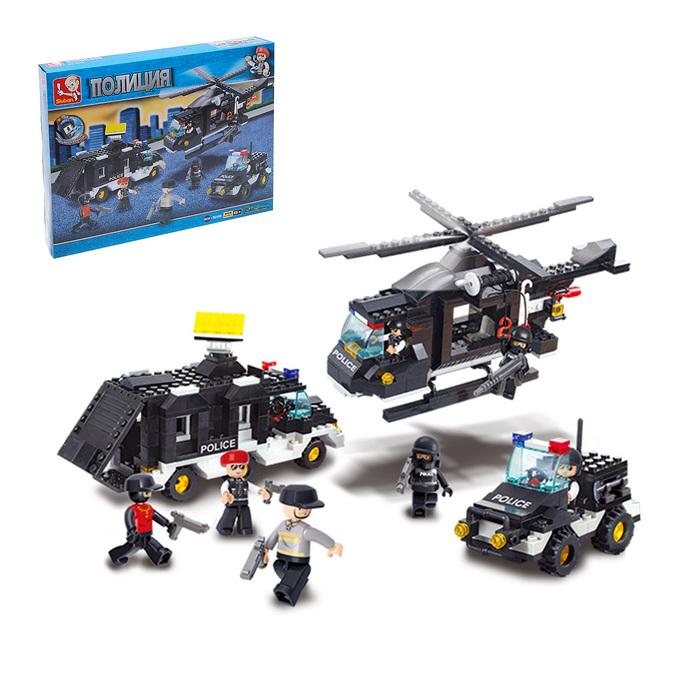 Конструктор «Военная полиция: Спецназ», 499 деталей - фото 106525900