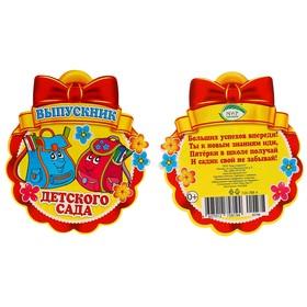 Медаль 'Выпускник детского сада' портфели Ош