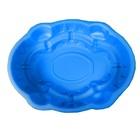 Пруд садовый пластиковый «Джумба», 120 л, синий