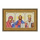 """Схема для вышивки бисером """"Иконостас Святого Николая Чудотворца"""""""