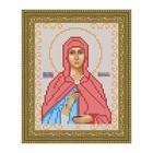Схема для вышивки бисером «Святая Анастасия»