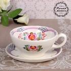 Чайная пара «Чайная церемония», сетка, 0,25 л, 15,5х8,4 см, 1 сорт