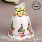 Сувенир «Колокол Бабочка», цветение, 3×3×7,7 см, 1 сорт