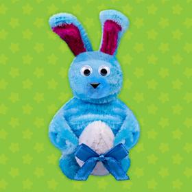 """Toy fur sticks """"Bunny"""""""