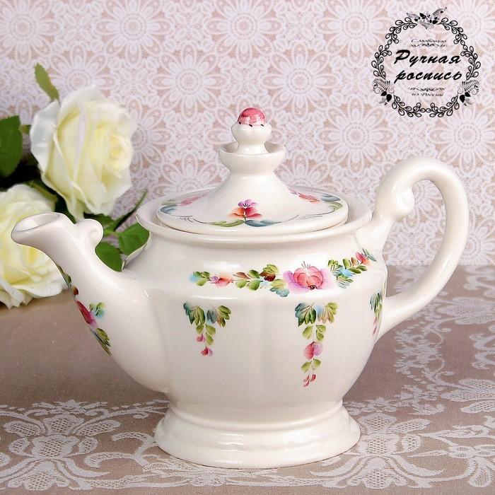 Чайник «Людмила», 1 л, 12х20,5 см, 1 сорт