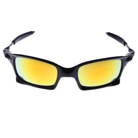 """Очки спортивные """"Square"""", оправа классическая, линзы зеркальные, микс, 14х5.5 см"""