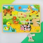 """Рамка-вкладыш """"Детские рисунки. Животные"""""""