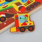 """Рамка-вкладыш """"Детские рисунки. Животные-строители"""" - фото 105593019"""