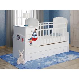 Детская кровать-трансформер Infanzia, серия Pirate