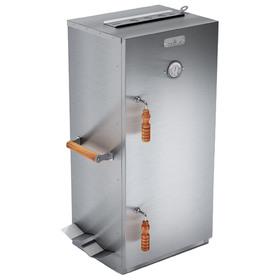 Шкаф коптильный на 4 полки Smoky Master 4, термометр, жиросток, поддон для щепы, 40 х 32,5 х 85 см