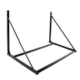 Bracket MART, for storing a / m wheels, folding, up to 150 kg, black