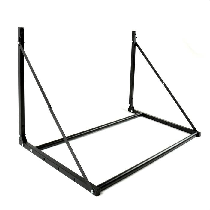 Кронштейн MART, для хранения а/м колес, раскладывающийся, до 150 кг, черный