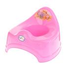 Горшок детский «Сафари», цвет розовый