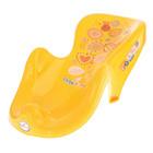 Горка для купания анатомическая «Фольклор», на присосках, цвет жёлтый