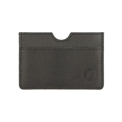 Картхолдер для карточек без застёжки, цвет чёрный