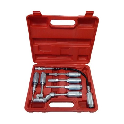 Набор адаптеров-переходников Partner PA-D1020, для смазочного шприца, 7 предметов