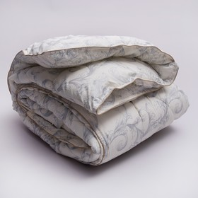 Одеяло Стандарт ''Узор'' лебяжий пух  Евро 200х220 см,тик 100% п/э