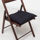 Подушка на стул г/к 05-704 42х42х13 см, репс, хл 100%, наполнитель ПЭ 100%