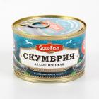 "Рыбная консервация"" Скумбрия северная ""GoldFish"" 250гр."