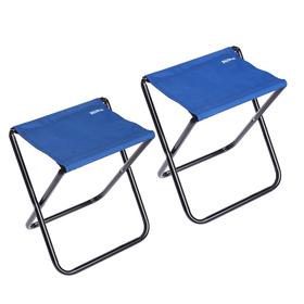 Набор стульев НПС, 34 x 30 x 37 см, синий, 2 шт. в сумке