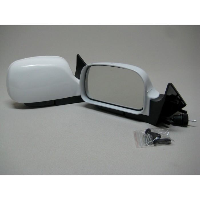 Зеркало боковое с регулировкой 3291-10, ВАЗ 2110, LADA PRIORA, белое, 2 шт.