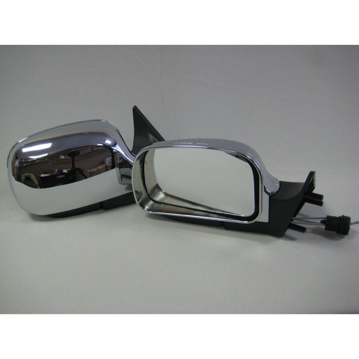 Зеркало боковое с регулировкой 3291-10, ВАЗ 2110, LADA PRIORA, хром, 2 шт.