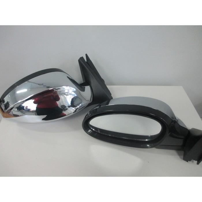 Зеркало боковое универсальное 3300-07, ВАЗ 2107, хром, 2 шт.