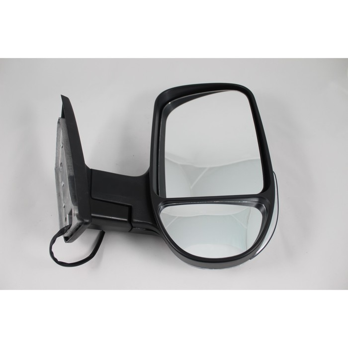 Зеркало боковое на ГАЗЕЛЬ 3296 хром, правое, с повторителем поворота и габаритом, 1 шт.