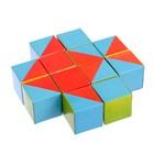 Набор кубиков «Собери узор», 12 штук