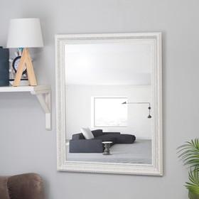 Зеркало настенное «Верона», белое, 60×74 см Ош